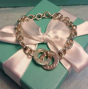 Tiffany & Co. 1837 Interlocking Bracelet